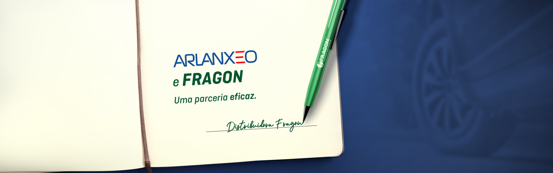 ARLANXEO e Fragon. Uma parceria eficaz.